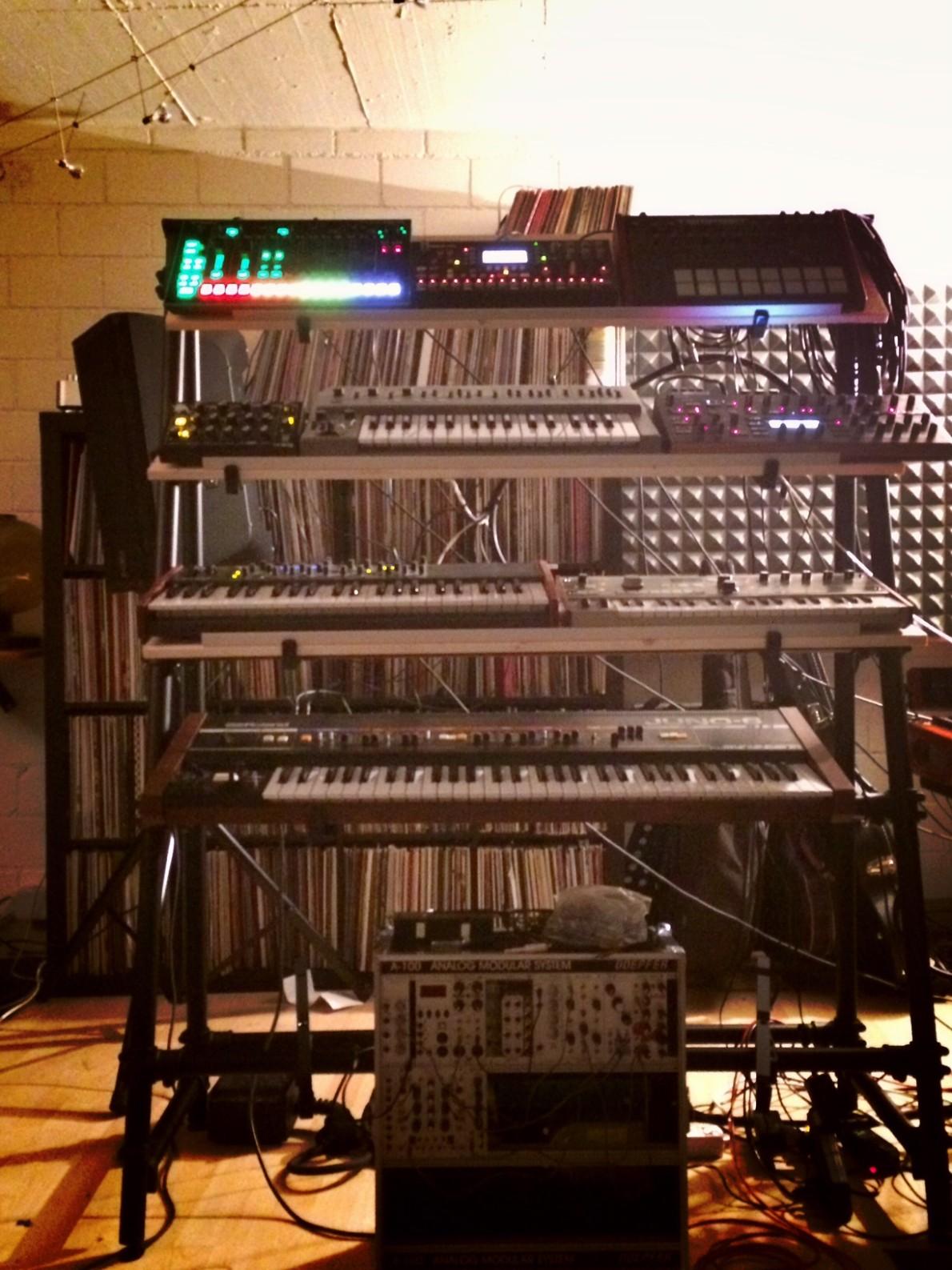 Synthesizer Studio Georg Stuby