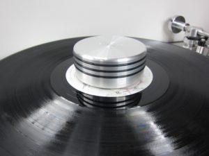 Schallplatten digitalisieren Plattengewicht
